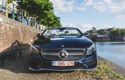 Автомобиль с откидным верхом Мерседес-Benz S500 Стоковые Фото