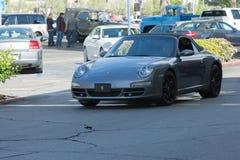 Автомобиль с откидным верхом Порше 911 Carrera стоковая фотография rf