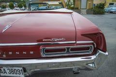 1966 автомобиль с откидным верхом спорта parisienne Pontiac изготовленный на заказ, деталь Стоковое Изображение RF