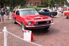 Автомобиль с откидным верхом 1968 Форда Shelby Стоковое Изображение
