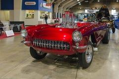 Автомобиль с откидным верхом Chevrolet Corvette Стоковое фото RF