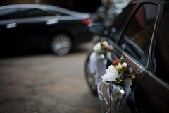 автомобиль украсил венчание Стоковые Изображения RF