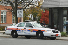 Автомобиль Управления полиции Nassau County Стоковая Фотография RF