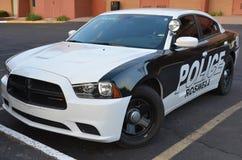 Автомобиль Управления полиции Roswell стоковое фото