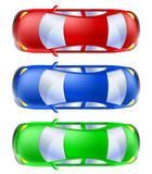 Автомобиль установленный от взгляд сверху Стоковая Фотография RF
