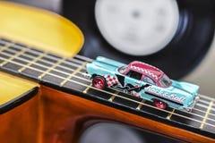 Автомобиль утеса & крена стоковая фотография rf