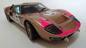 Автомобиль Форда Gt Mk II модельный Стоковое Изображение