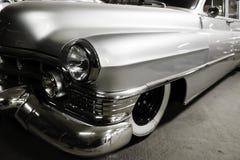 Автомобиль части серебряный винтажный Стоковое Изображение