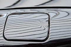 Автомобиль черноты танка крышки сложность элегантность стоковая фотография
