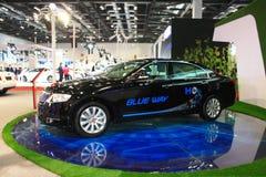 Автомобиль черноты phev Hongqi h7 Стоковое Изображение RF