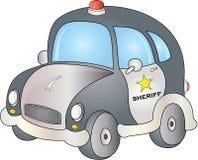 Автомобиль шерифа Бесплатная Иллюстрация