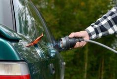 автомобиль электрический Стоковые Изображения