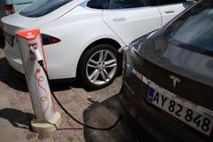автомобиль электрический Стоковые Изображения RF