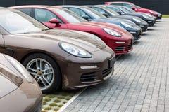 Автомобиль для продажи Стоковое Изображение RF