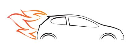 Автомобиль Стоковое Изображение RF