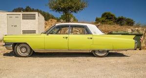 Автомобиль 1950 americam Кадиллака de ville винтажный Стоковые Фотографии RF