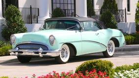 Автомобиль Buick Skylark мяты зеленый античный Стоковая Фотография