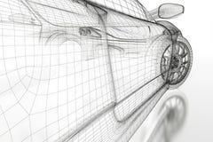 автомобиль 3d Стоковые Фотографии RF