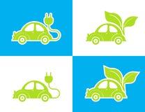Автомобиль Eco иллюстрация вектора