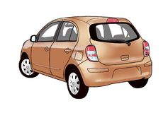 Автомобиль Eco Стоковое фото RF