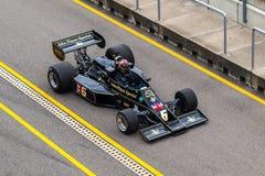 Автомобиль F1 лотоса 77 Стоковые Фотографии RF
