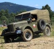 Автомобиль Gaz 69 армии Стоковая Фотография RF