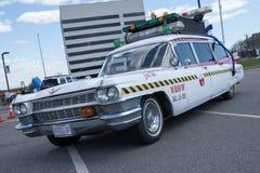 Автомобиль Ghostbusters Стоковые Фотографии RF