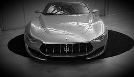 Автомобиль Maserati стоковое фото rf