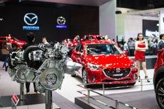 Автомобиль Mazda на дисплее Стоковая Фотография RF