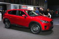 Автомобиль Mazda CX-5 Стоковое фото RF