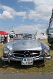 автомобиль mercedes старый Стоковая Фотография