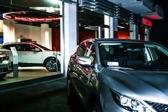 Автомобиль Nissan Qasqai Стоковые Фотографии RF