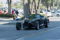 Автомобиль Prowler Крайслера Плимута на дисплее стоковая фотография