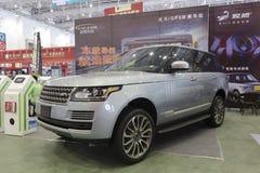 Автомобиль Range Rover Стоковые Изображения RF