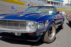 Автомобиль 1968 Shelby GT-350 мустанга классики Стоковое Изображение