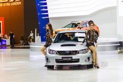 Автомобиль Subaru WRX STV стоковое фото