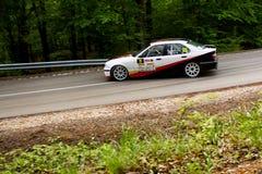Автомобиль Szekesfehervar Венгрия ралли Стоковая Фотография RF