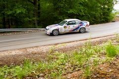 Автомобиль Szekesfehervar Венгрия ралли Стоковая Фотография