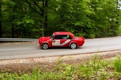 Автомобиль Szekesfehervar Венгрия ралли Стоковое Изображение