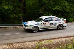 Автомобиль Szekesfehervar Венгрия ралли Стоковое Фото