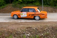 Автомобиль Szekesfehervar Венгрия ралли Стоковое Изображение RF