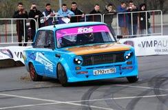 Автомобиль VAZ 2101 Совета настраивая Стоковые Изображения RF
