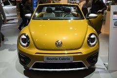 Автомобиль Volkswagen Beetle Cabrio Стоковая Фотография RF