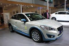Автомобиль Volve c30 EV чисто электрический Стоковые Фото