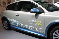 Автомобиль Volve c30 EV чисто электрический Стоковые Изображения RF
