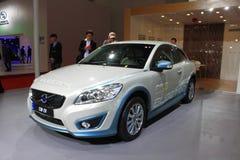 Автомобиль Volve c30 EV чисто электрический Стоковые Изображения