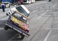 2 автомобиля на 2 колесах Стоковое Изображение RF