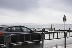 2 автомобиля на прогулке Стоковые Изображения RF