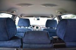 автомобиля скорость внутри помещения нутряная кожаная резвится корабль Стоковое Фото