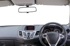 автомобиля скорость внутри помещения нутряная кожаная резвится корабль Стоковая Фотография